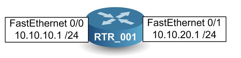 Configuration de base d'un routeur 2